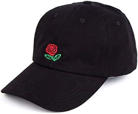 Cappello da Sole ricamato Rosa Crema solare per il Tempo Libero ...
