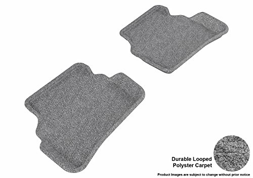 3D MAXpider L1CD00911509 Floor Mat Front Row All Weather for Cadillac ELR Kagu Rubber Black