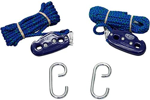 RTB1424GRN 2 Pack - 1//4/″ YakGear Tie Boss Tie Downs