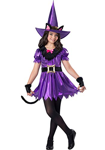 Girl's Kitty Kat Witch Costume -