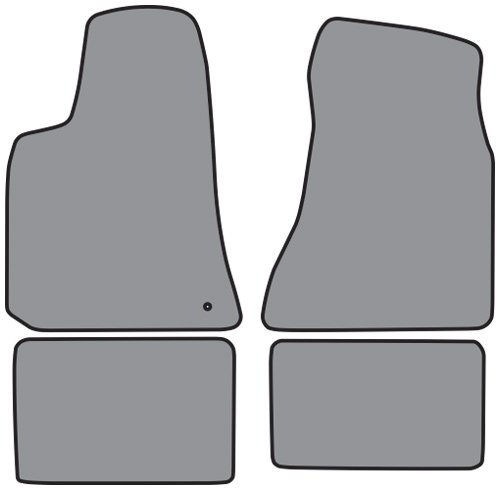 Factory Fit - ACC 2006-2009 Dodge Charger Floor Mats - 4pc - ()