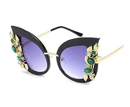 3dcbe6c6e Fashion Vintage Cat Eye Sunglasses Women Metal Swarovski Elements Crystal  Diamond Sun Glasses
