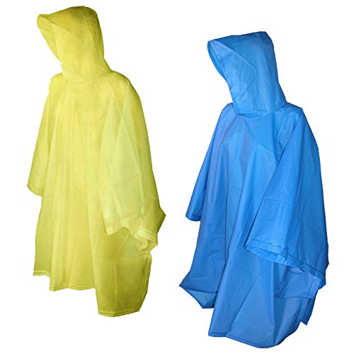 Totes Raines Childrens Poncho Yellow
