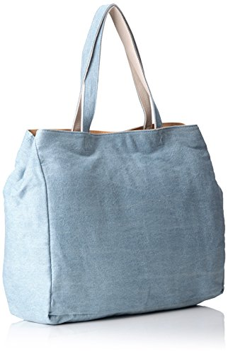Paul & Joe Tote Bag, Borsa tote donna Blu Blau (Light Jeans 366 366) 45x15x34 cm (B x H x T)
