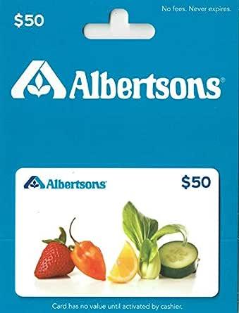 Albertsons Gift Card $50