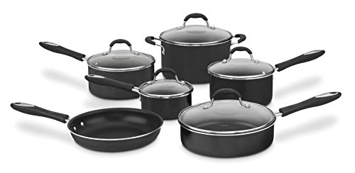 Cuisinart Advantage Black Nonstick 11-pc. Cookware Set