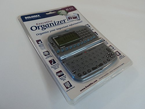 Rolodex Executive Electronic Organizer Rf 512 by Rolodex Electronics