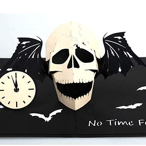3D Skull Pop-Up Card - Funny Greeting Card