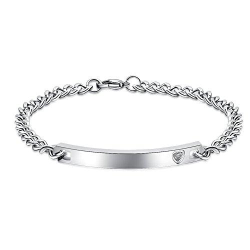 engraved custom couples bracelets - 7