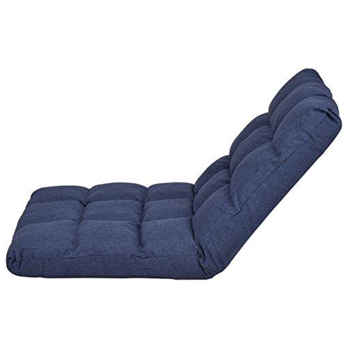 Giantex Adjustable Floor Gaming Sofa Chair 14 Position