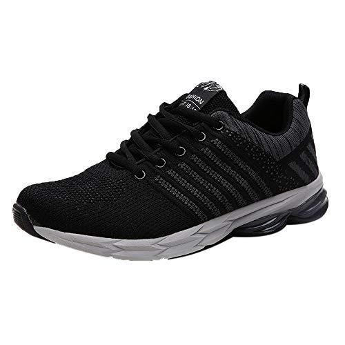 MILIMIEYIK Climbing Shoes, Mens Running Women Lightweight Slip On Sneakers for Men Cross Training Tennis Sports Walking Shoe -