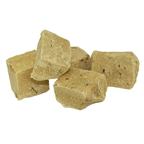 Stewart Pro-Treat, Freeze Dried Lamb Liver Dog Treats, Single Ingredient, Grain Free, USA Made, 16.8 oz. Resealable Tub