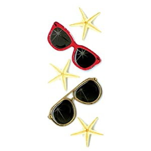 Jolee's By You Slims Sunglasses Dimensional Stickers