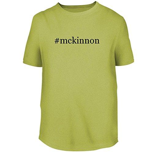 (BH Cool Designs #McKinnon - Mens Graphic Tee, Yellow, Small)