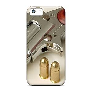 New Style Tpu 5c Protective Case Cover/ Iphone Case - Gun