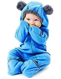 Fleece Baby Bunting Onesie Jacket – Infant Pajamas Winter...