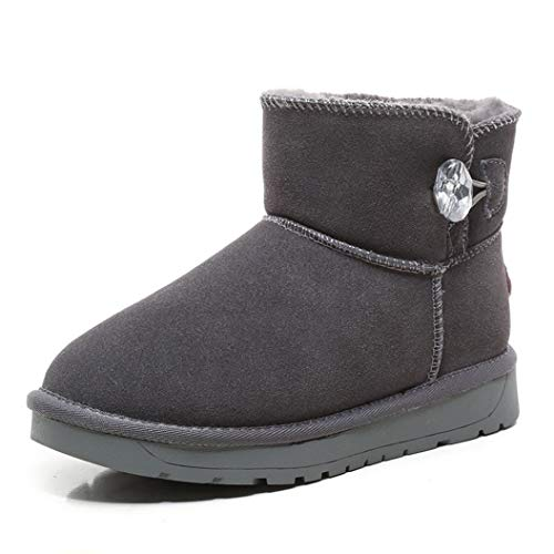 Kyle Walsh Pa Women Snow Boots Warm Fur Non-Slip Soft Comfor