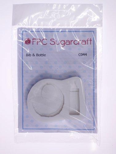 Bebé babero y botella - manga pastelera de silicona molde para decoración de tartas y cupcakes por FPC: Amazon.es: Hogar