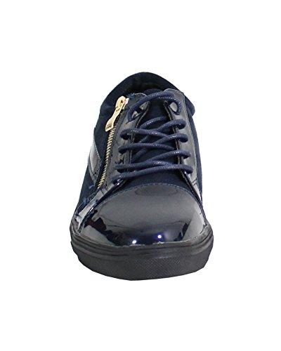 By Donna By Shoes blu blu Sneaker Donna Shoes Sneaker FZqO4xxnw