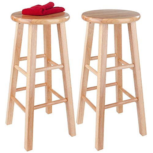 """Winsome Wood 83230 Pacey Stool, 29"""", Natural"""