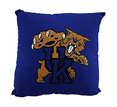 NCAA University of Kentucky Wildcats Team Color Throw Pillow 18 inch