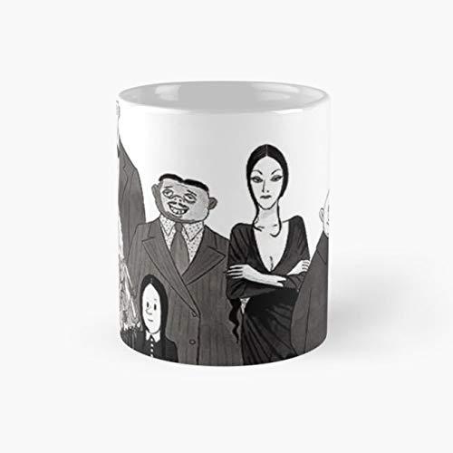 The Addams family Mug, addams family Tea Cups, 11 Ounce Ceramic Mugs, Perfect Novelty Gift Mug, Funny Gift Mug, Funny Coffee Mug 11oz, Tea Mugs