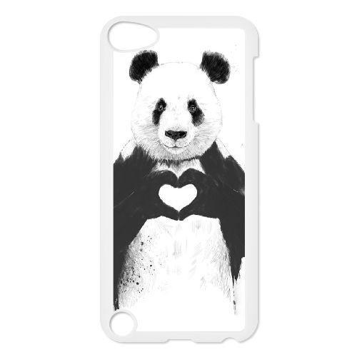(Panda DIY Case Cover for Ipod Touch 5,Panda custom case cover)