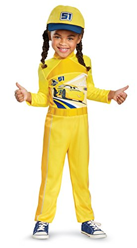 Cars 3 Cruz Classic Toddler Costume, Yellow, Small