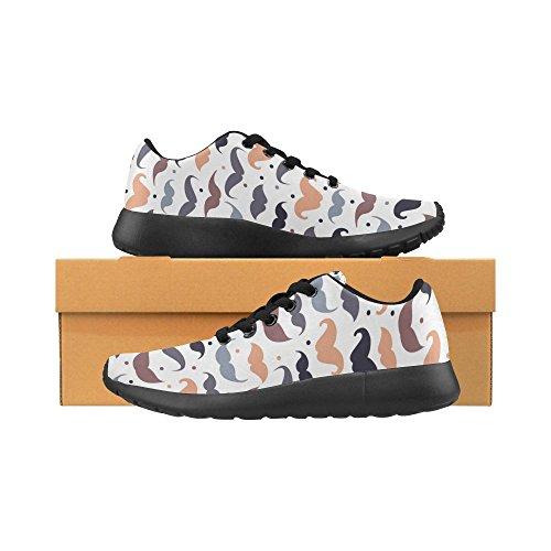 de Mujer Zenzzle Lona Para Zapatillas Negro de 13 Color Negro Running 5I5pYwx