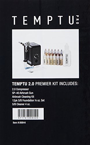 Temptu Airbrush Makeup System 2.0 Premier Kit: Airbrush Makeup Set for Professionals by Temptu (