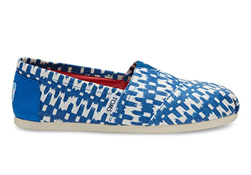 Toms Womens Classic Casual Shoe Turkish Sea Ikat