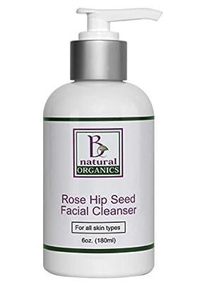 Be Natural Organics Rose Hip Seed Facial Cleanser 6 Oz (180 ml) by Be Natural Organics