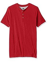 Lee Mens Short Sleeve Henley Shirt