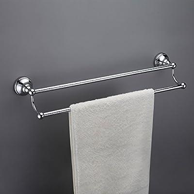 Maykke Boulder Double Towel Bar for Bathroom or Kitchen