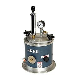 Mini Wax Injector with Hand Pump Arbe Machine Size 1 1/3 Quart Tank Jewelry 110v