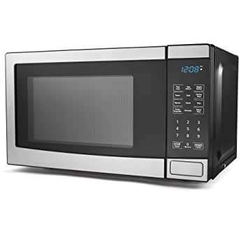 Amazon.com: Mainstays 0,7 Cu Ft horno microondas Digital 700 ...