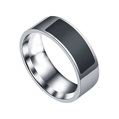 YJYdada NFC Multifunctional Waterproof Intelligent Ring Smart Wear Finger Digital Ring (D)