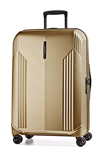 March New Manhattan 5100 4-Rollen-Trolley L 79x33x53cm gold brushed