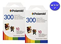 2 Pack Of Polaroid PIC-300 Instant Film for 300 Series Cameras