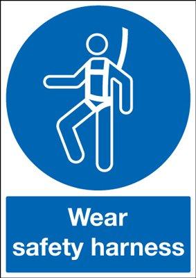 PPE cartel A3 desgaste arnés de seguridad, color Self Adhesive ...