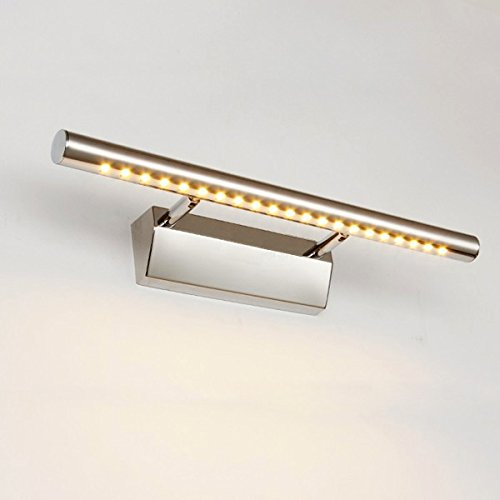 Modern chrome ip44 bathroom wall mirror light fitting with pull dailyart 5w led mirror light wall sconces bathroom lamp warmwhite aloadofball Image collections