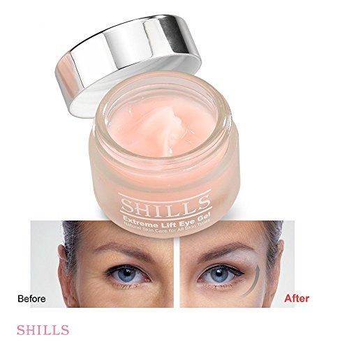 SHILLS Moisturize Lift Eye Gel Reduce Puffiness, Remove dark circles, wrinkles by SHILLS