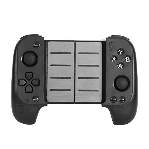 (Alloet Telescopic Wireless Bluetooth Gamepad Controller Joystick Handle for iPhone iOS Android for Samsung/Xiaomi/Huawei Mobile PUBG Video Game Controllers)