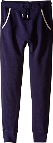 California Pocket C&c (C&C California Kids Girl's French Terry Drop Inseam Slip Fit Joggers (Little Kids/Big Kids) Navy X-Large)