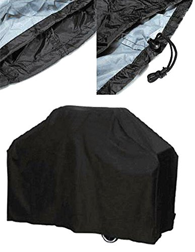 All Season Big Fitted BBQ Cover, Heavy Duty Outdoor Rainproof Dustproof UV Protection Barbecue Grill Cover, Garden Patio Grill Protector, Extra Large 117 x 170 x 61cm + Storage Bag - Garden Free Plans Bench