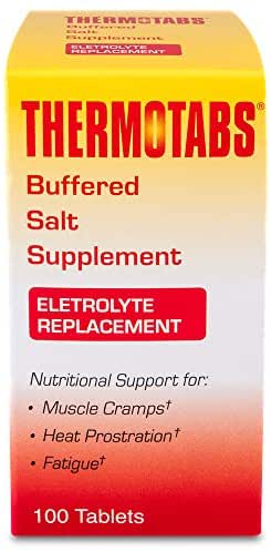 THERMOTABS Salt Supplement Buffered Tablets 100 Tablets (Pack of 2)