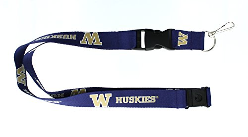 NCAA Washington Huskies Team Lanyard