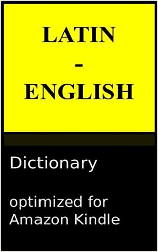 Latin To English Dictionary Pdf