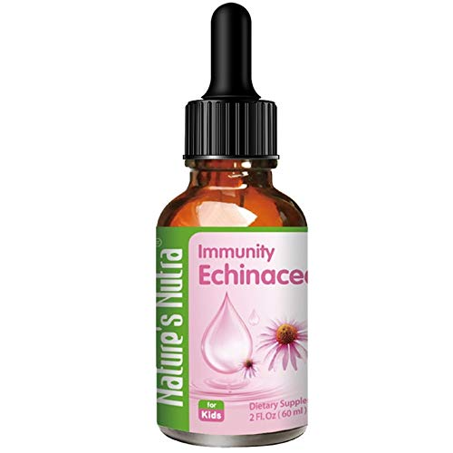 Nature's Nutra Immunity Echinacea, 2 Fl. Oz (60ml), Premium Baby and Infant Liquid Drops, Toddlers Kids Children Multivitamin Supplement For Sale