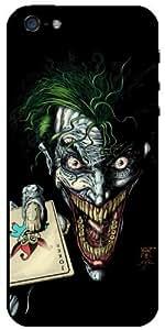 The Joker and Batman DC Comics v4 iPhone 5S - iPhone 5 Case 3vssG by supermalls